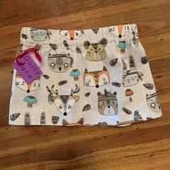 Wild bear skirt