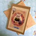 Little Inspirations 'Reader' Card