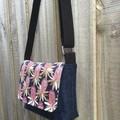 Upcycled Denim Cross Body Bag - Banksia