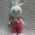 Rabbit: READY TO POST, Bunny Rabbit, Crochet toy