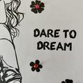 Dare to Dream, Handmade card