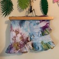 ice dye frill skirt