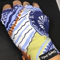 Sunglove: lycra, sun protection,  fingerless, palm free, golf, free post