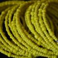 Yellow Beaded Bracelet |Spiral Bracelet |Set of 3 |Eunique Gift For Her