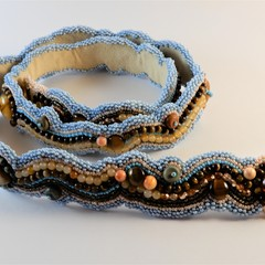 Mostly Jasper Beaded Belt