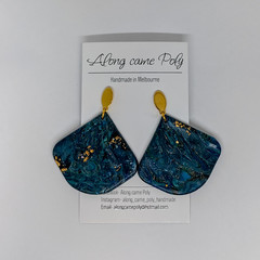 Laguna polymer clay earrings