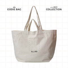 Printed Cotton Tote Bag with Pockets : All Designs | The Güdie Bag