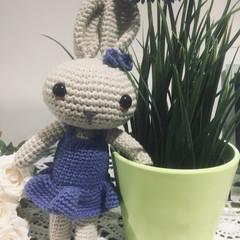 Crochet Doll / Amigurumi / Stuffed Toy / Bunny Rabbit / Kids Gift / Girls Gift