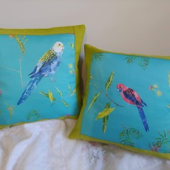 Australian Parrot Cushion Covers (pair)