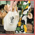 Floral Printed Cotton Tote Bag with Pockets | The Güdie Bag
