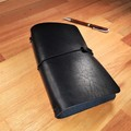 Traveler's Notebook Personalized, Leather Journal Diary Refillable Gift, Book Co