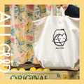 Eco Printed Cotton Tote Bag with Pockets | The Güdie Bag