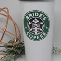 Brides/Bridesmaid Gift, Travel Mug, Personalised Starbucks Cup, Bridesmaids Gift