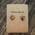 Floral Heart Earrings