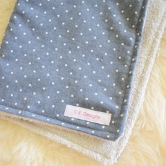 Cotton towelling baby burp cloths