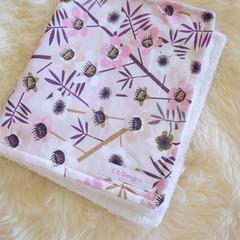 Cotton towelling baby burp cloths