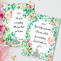 Buddha Quotes DIY Creative Printables Kit