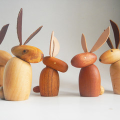 Toys of Wood Easter Bunny