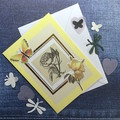 Inspirational 'A rose (by any other name)…'  Yellow Floral Card
