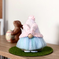 Easter Gnome with Pink Bunny Ears - Made to Order