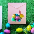 Easter Gift Bag - egg pouch, treat bag x 8 *Free Post*