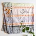 Size 0 Vintage Upcycled Striped Baby Sundress