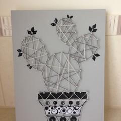 Cactus String Art 002