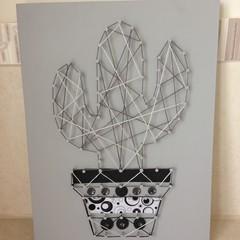 Cactus String Art 004