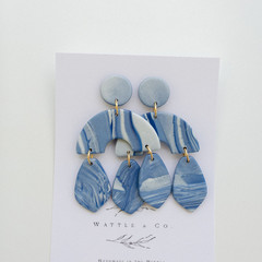 Statement Dangle 'Ocean' Collection