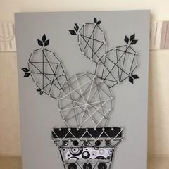 Cactus String Art 003