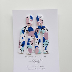 Statement Earring 'Blue Jeans' Collection