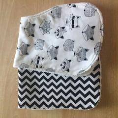 Cotton burp cloth pack