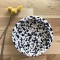 Crochet basket | essential oils | storage basket | TRIO SET NAVY AQUA LAVENDER