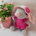 Hand Crocheted Bilby / Easter Bilby