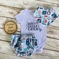 """""""Cutest Little Catch"""" Onesie Set Baby"""