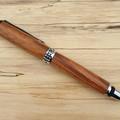 Sedona handmade pen, writing pen, Chrome, Japanese Elm timber.