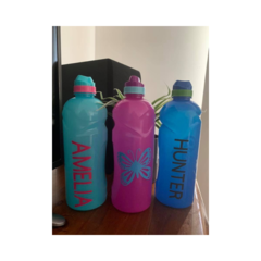 1 Litre personalised water bottles