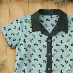 Tractors - Boy's Button up Shirt - Size 3