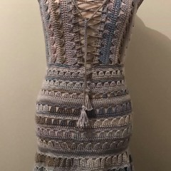 CROCHET DRESS - SIZE 10-12