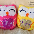 Personalised Owl Plushie