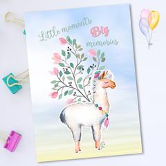 Llama Nursery Quote Printable