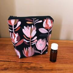 Essential Oil Pouch 5 slots - Black Protea