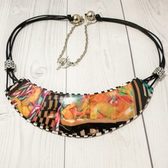 Abstrac Statement Collar Necklace