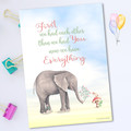 Elephant Quote Nursery Printable