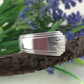 Art Deco SPOON RING, Sterling Silver (Sheffield, 1938).