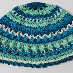 Ladies Crochet Chemo hats