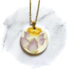 Yellow flower Pendant