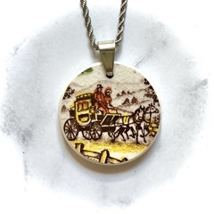 Stagecoach pendant