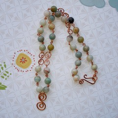 Fat Cat Originals Amazonite Necklace