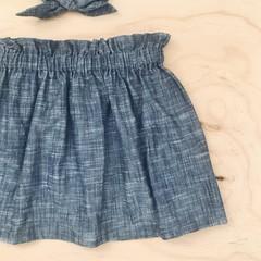Skirt - Denim Cotton -